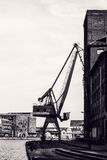 Heavy Duty Crane Royalty Free Stock Photo