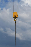 Heavy Duty Crane Hook With 45 Tons Working Load Royalty Free Stock Photography