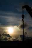 Heavy duty crane Stock Photos