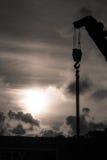 Heavy duty crane Stock Photo