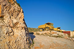 Heavy duty dump trucks Stock Images