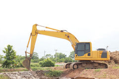 Heavy duty excavator Royalty Free Stock Image