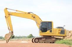 Heavy duty excavator royalty free stock photos