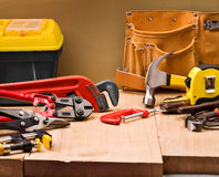 Heavy duty hand tool Royalty Free Stock Photo