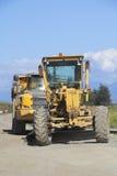 Heavy Duty Industrial Construction Vehicles. Large heavy duty vehicles are used for road construction Stock Photography