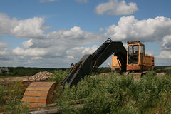Heavy duty machinery Royalty Free Stock Images