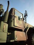 Heavy Duty Military Truck Stock Photo