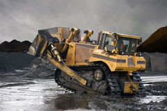 Heavy Duty Mining Shovel stock image