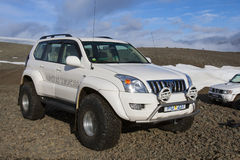 Heavy Duty Off-Road Vehicle in Iceland stock photography