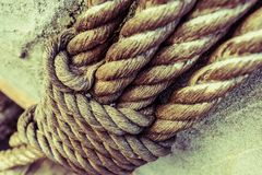 Heavy Duty Rope Stock Images