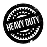 Heavy Duty rubber stamp Stock Photo