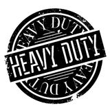 Heavy Duty rubber stamp Stock Image