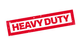 Heavy Duty rubber stamp Royalty Free Stock Photo