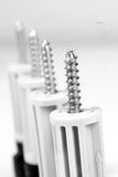 Heavy duty screws Royalty Free Stock Image