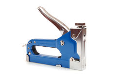 Heavy Duty Stapler on white Royalty Free Stock Photos
