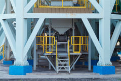 Heavy duty steel construction Royalty Free Stock Image