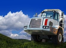 Heavy duty truck Royalty Free Stock Photo