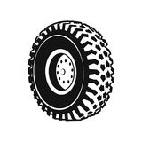 Heavy Duty Truck wheel Rim, Front and Rear Royalty Free Stock Image