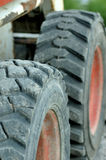 Heavy duty tyres Royalty Free Stock Image