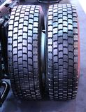 Heavy Duty Tyres. Royalty Free Stock Image