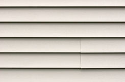 Heavy duty vinyl siding Stock Photo