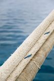 Heavy duty and weathered ropes Royalty Free Stock Image