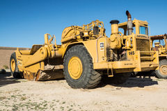 Heavy Earth Moving Machinery Royalty Free Stock Photo