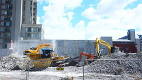heavy earthmoving machinery in christchurch
