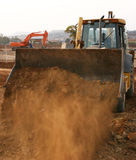 Heavy equipment royalty free stock photography