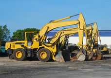 Heavy equipment Royalty Free Stock Photo