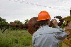 Heavy equipment construction stock photography