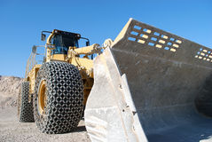 Heavy Equipment Earth Mover Royalty Free Stock Images