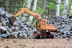 Heavy Equipment Excavator Royalty Free Stock Photography