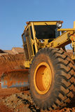 Heavy equipment : Grader royalty free stock photography