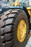 Heavy Equipment Tire Stock Photos