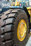 Heavy Equipment Tire Stock Images