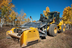 Heavy Equipment in the Woods Stock Photos
