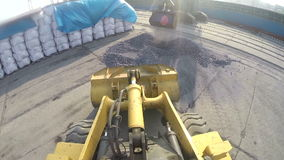 The heavy equipment stock video footage