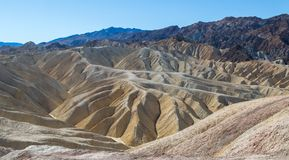 Geological treasure in Death Valley National Park Stock Photography