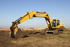 Heavy Excavation Equipment Stock Photos