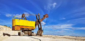 Heavy excavator Stock Images