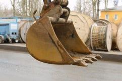 Heavy excavator bucket. Stock Image