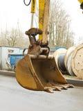 Heavy excavator bucket. Royalty Free Stock Photography