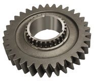 Heavy Gear. Hand made clipping path included Stock Photography