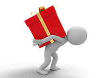 Heavy gift Stock Images
