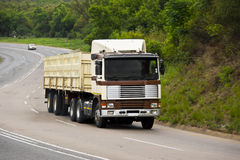 Heavy Goods in Transit - Long Haul Transport Stock Photography