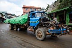 Heavy Goods Vehicle - Burma Royalty Free Stock Photos