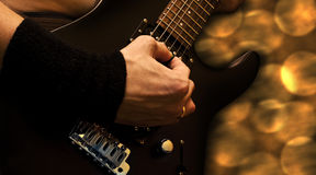 Heavy guitar - #2 Royalty Free Stock Image
