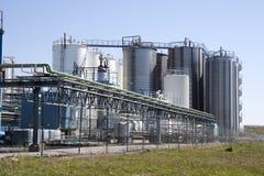 Heavy industry area Royalty Free Stock Photo