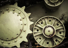 Heavy industry engineering background Royalty Free Stock Photos